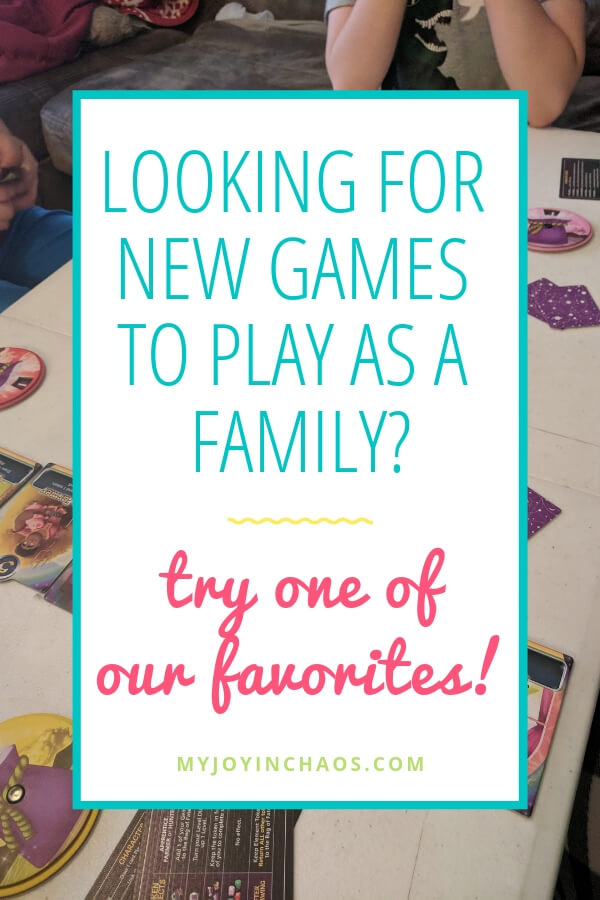 What games are good for family game night? Try one of our favorites and add it to your collection