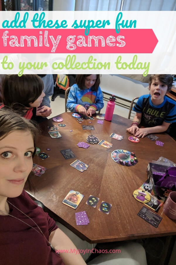 Try one or more of these super fun family games on your Next family game night