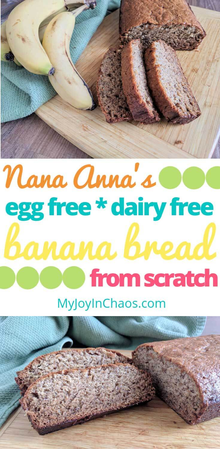 How to make Dairy Free and Egg Free Banana bread