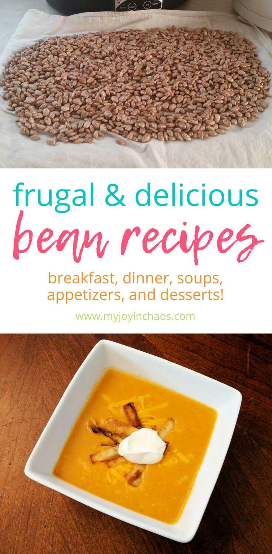 Bean recipes that still taste good