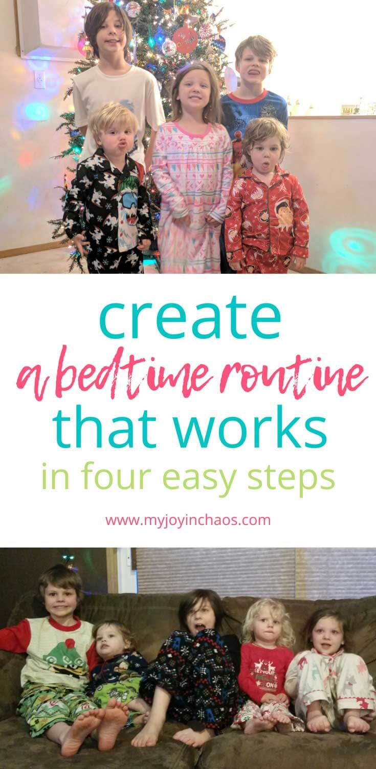 How to create a bedtime routine that kids will follow