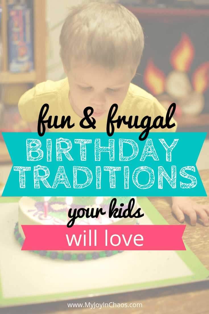 inexpensive birthday ideas