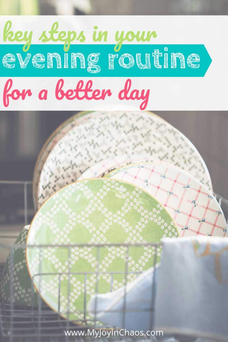 what to include in an evening routine