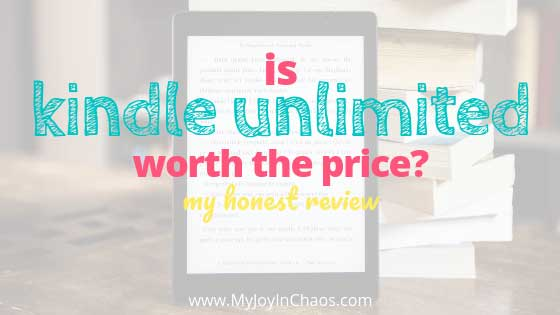 Have you considered signing up for Kindle Unlimited but aren't sure if it's worth the price? Here is my completely honest review of the Kindle Unlimited subscription and whether or not I think it is worth paying $9.99 per month.