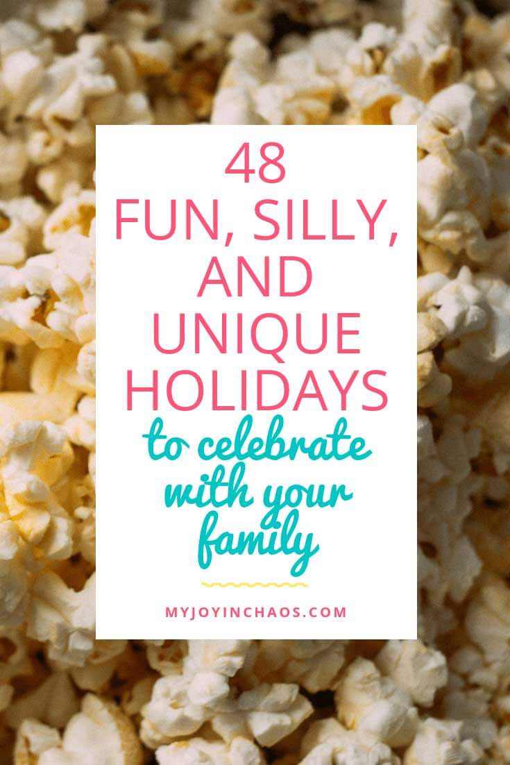 unique holidays to celebrate as family