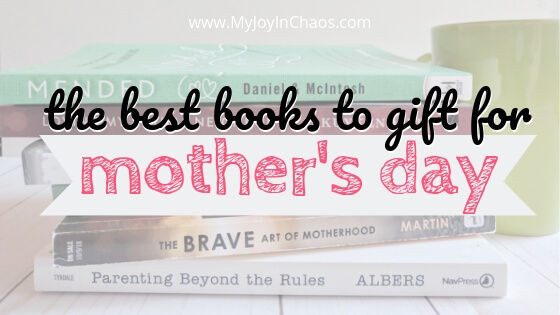 These books are sure to be a hit with the moms in your life. Throw in a gift card for their favorite coffee shop and you will have the best Mother's Day gift of the year!