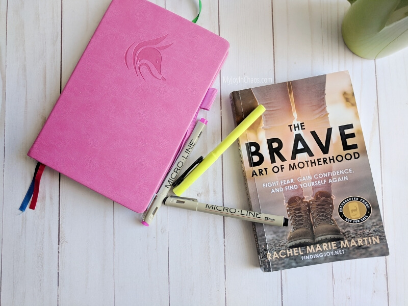 The book every mom should read so she can rediscover herself again - Brave art of motherhood by Rachel Martin