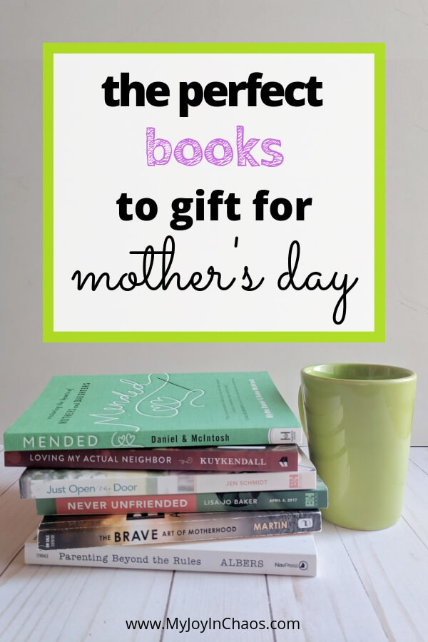 Need a mother's day gift that won't be forgotten? Gift one of these books to the favorite mom or woman in your life - or buy one for yourself!