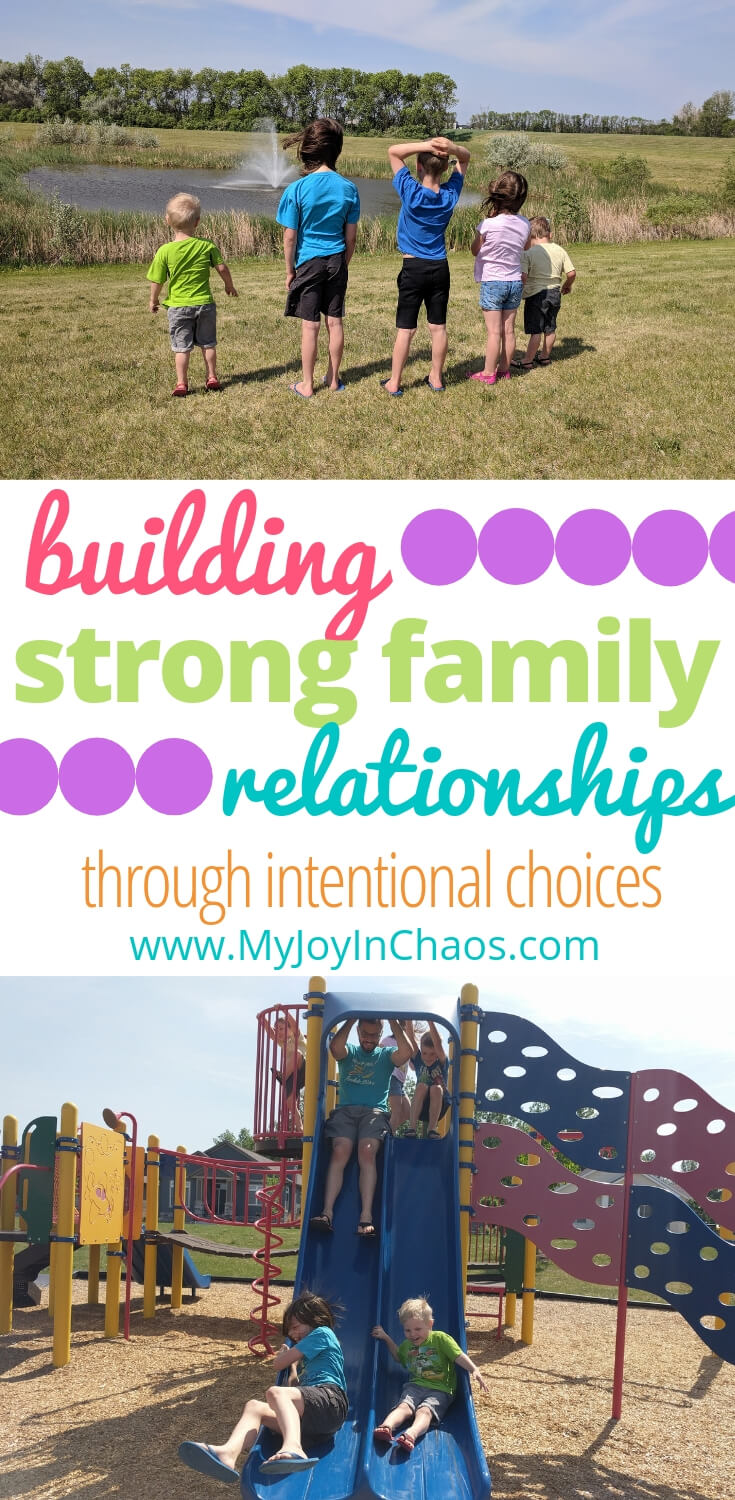 Discover how you can strengthen family relationships and grow closer to your kids through intentional choices