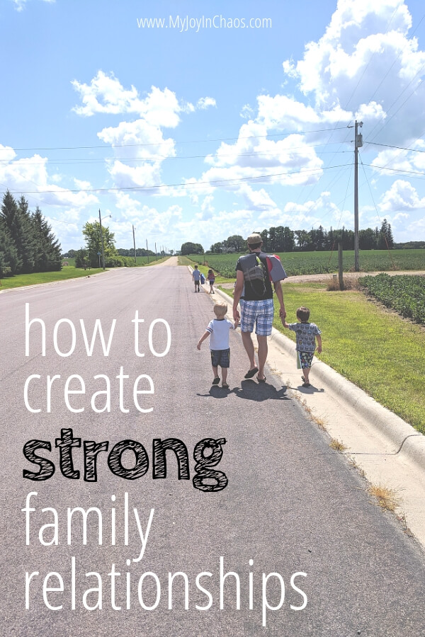How to create strong family bonds and connect with your kids