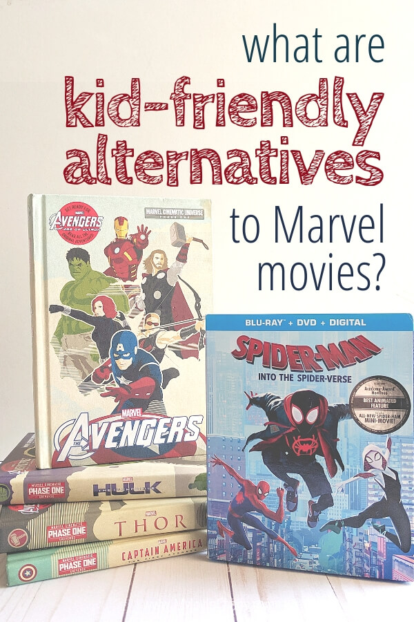 Marvel books, movies, and video games appropriate for kids. Let your kids experience the Marvel universe in these kid friendly formats.