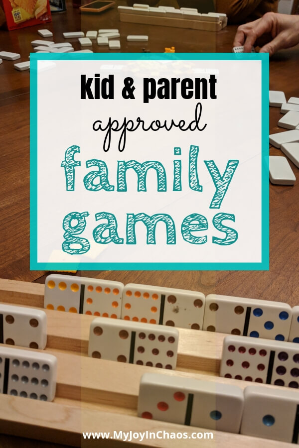 kid & Parent approved family games to add to your collection