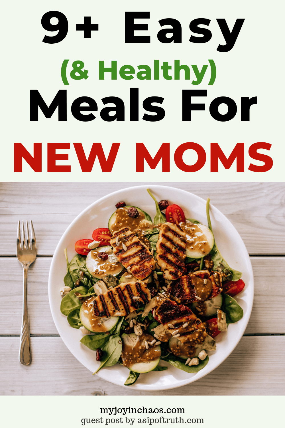 New baby? Make these easy and healthy meals for new moms that will nourish their bodies and keep their energy up as they care for the new blessing.