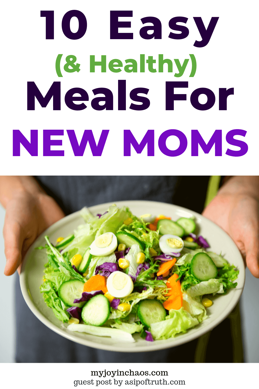 Meals to bring to a new mom that are healthy, simple, and delicious.
