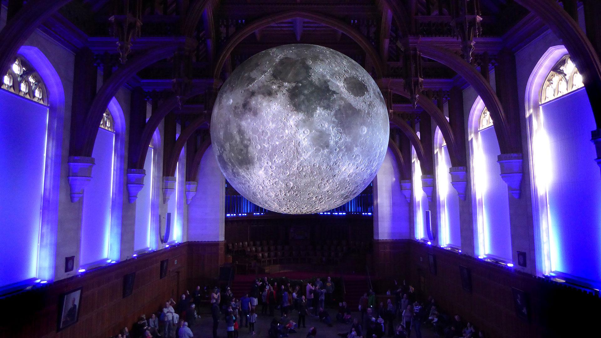 The Museum of the Moon  by Luke Jerram