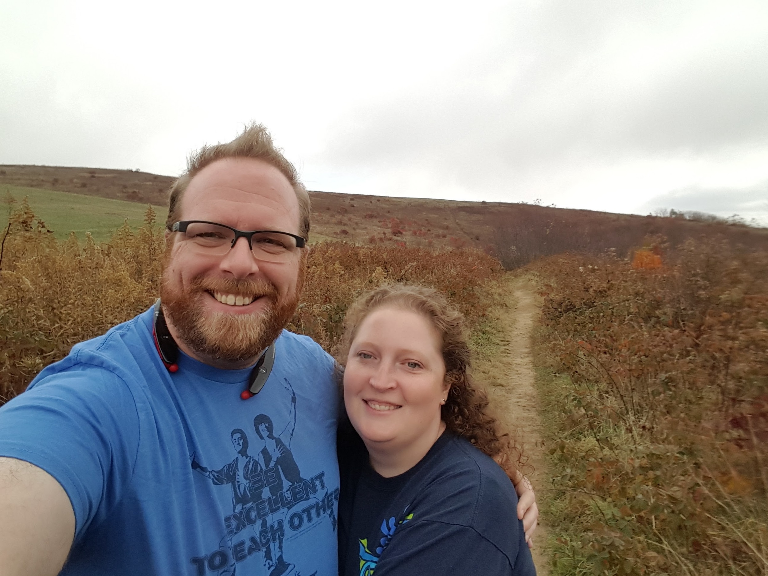 James and amber edwards in max patch, NC oCTOBER 2015