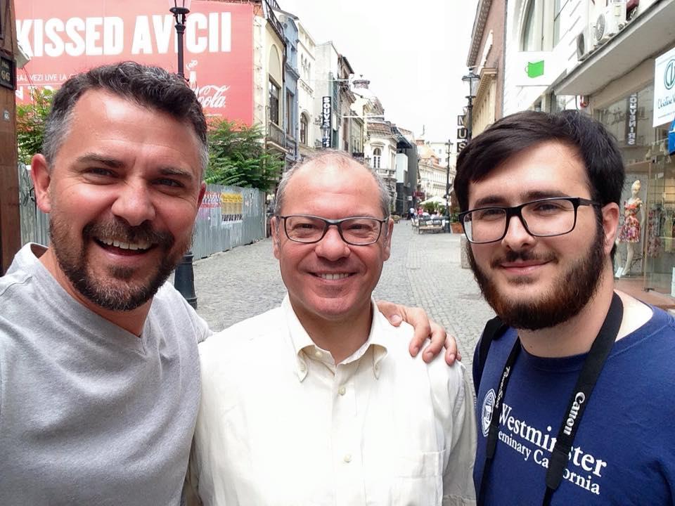 Michael Brown, Andrea Ferrari, and Mihai Corcea
