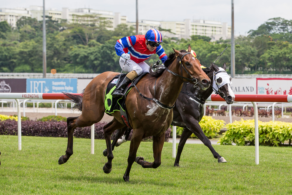 Siam Gemstone: Winner, Restricted Maiden - 1400m