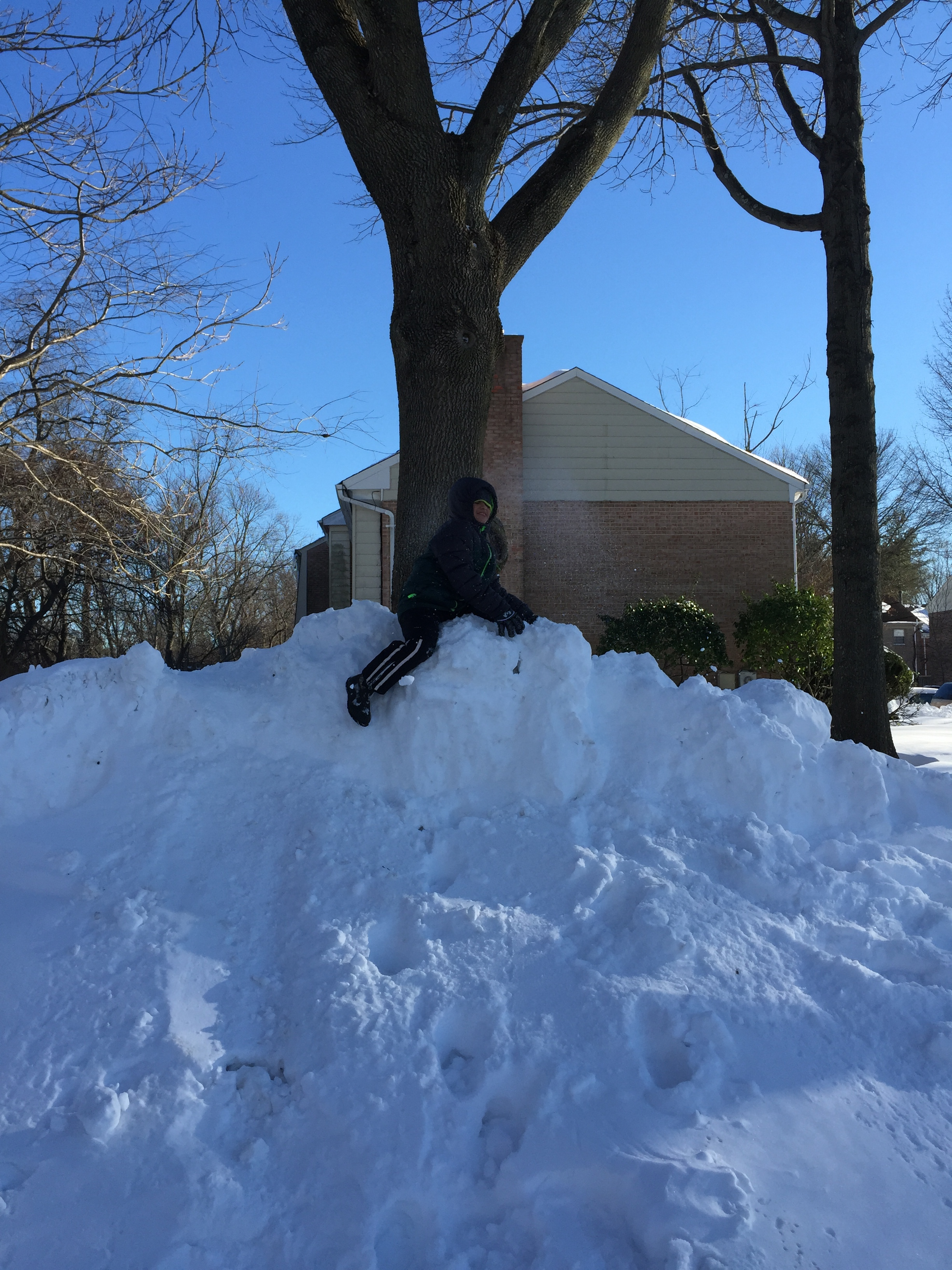 That's a lot of snow!   Photo by Lydia Romero-Johnson