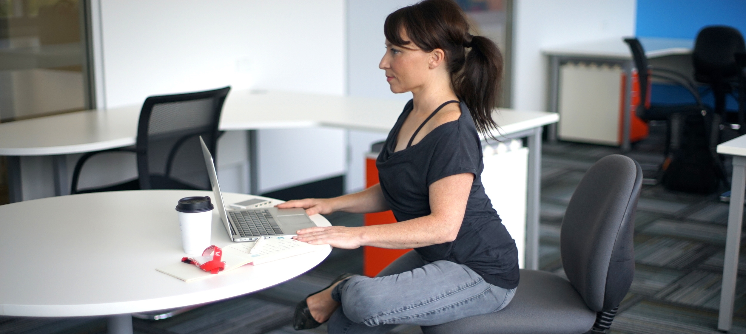 Desk Stretches to Ease Lower Back Pain