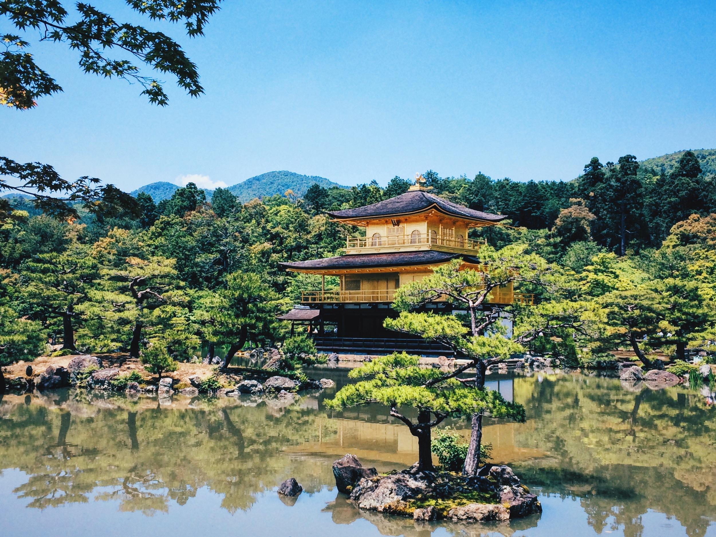 Kinkakuji - Golden Temple (photo by Joe Savinell)