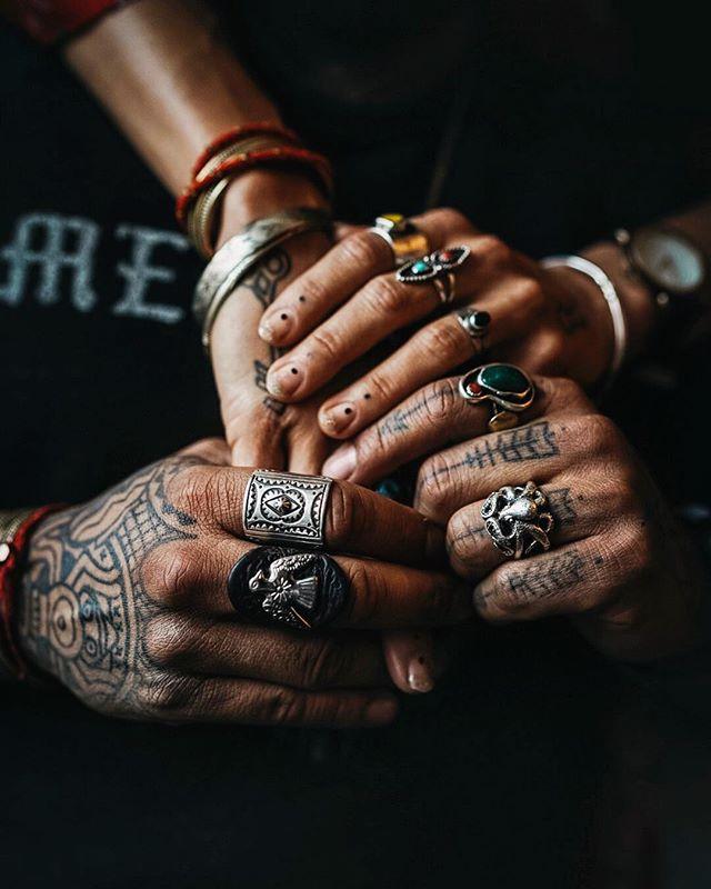 Warrior hands 🦅