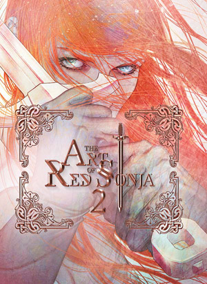 "Fiery in spirit, skilled in combat, lusty and bawdy in her revelry, the crimson-tressed heroine Red Sonja, known also as ""The She-Devil with a Sword"", is renowned as fantasy's most prominent female character. Since 2005, Dynamite Entertainment has been the proud home to Red Sonja, publishing hundreds of comics that have garnered critical acclaim and the devotion of a ravenous fan base. This second volume of the Art of Red Sonja showcases the fantastic illustrators and painters that have so perfectly captured the character's essence on cover artwork since 2010, including such comic book luminaries as Jay Anacleto, Ed Benes, Dan Brereton, Amanda Conner, Sergio Davila, Jenny Frison, Lucio Parrillo, Paul Renaud, Alex Ross, Mel Rubi, Marguerite Sauvage,"