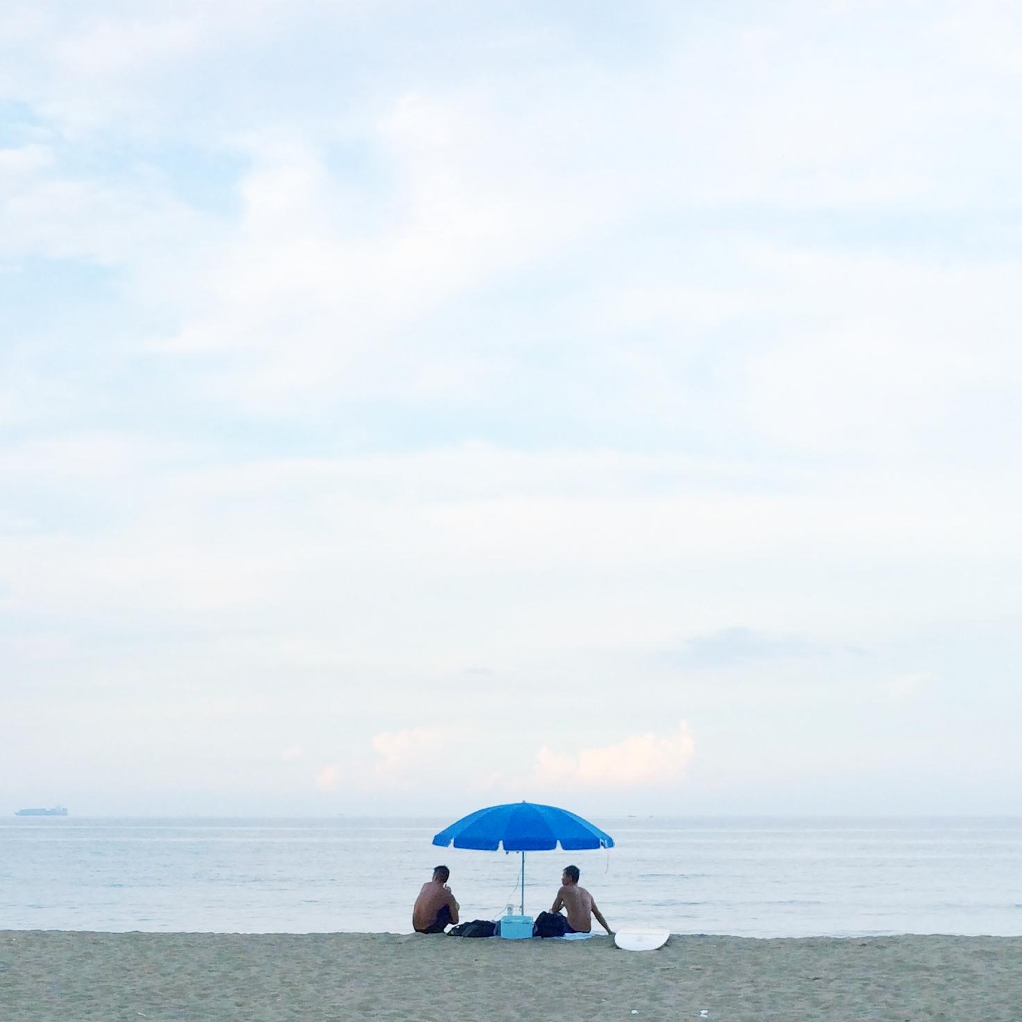 我的藍色夏天  photo   大Q