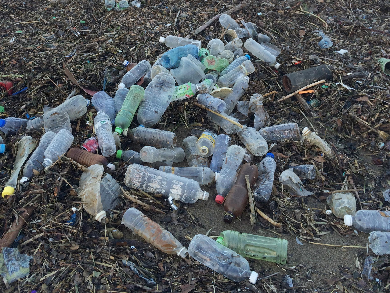 塑膠製品千年不化,也是沙灘上最常見到的人為垃圾。最後是最有可能被海洋生物吃下肚子。
