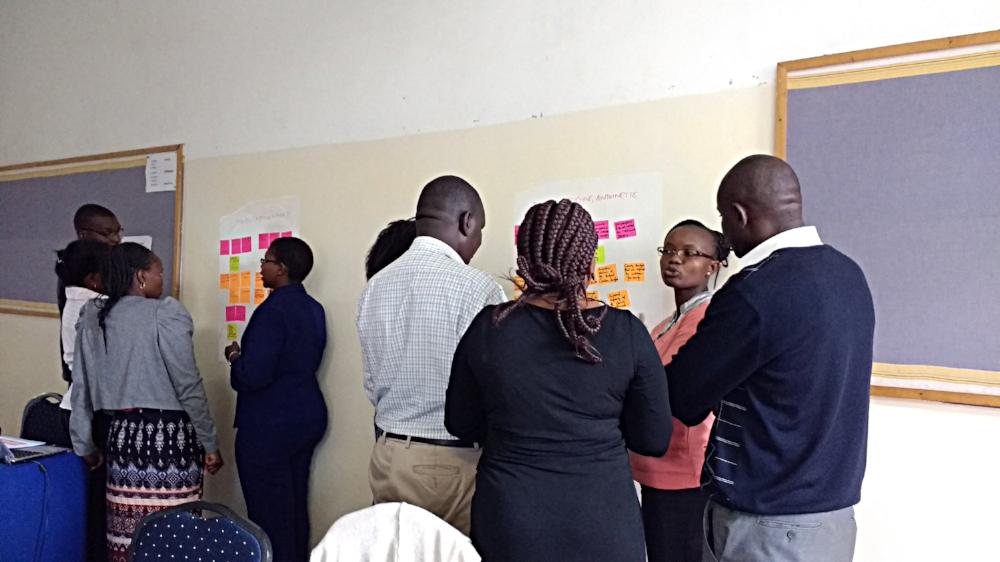 Workshop participants in Nairobi