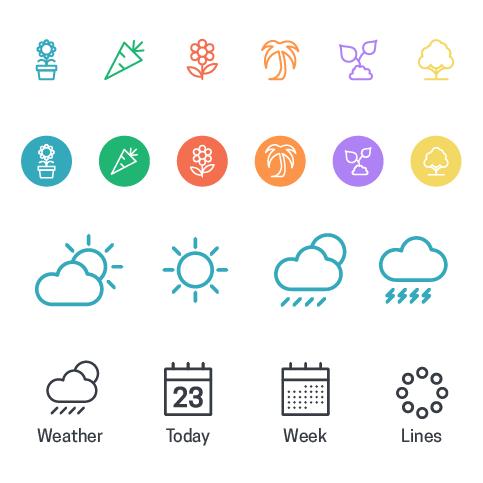 Icon design look & feel