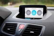 Driver dashboard navigation design