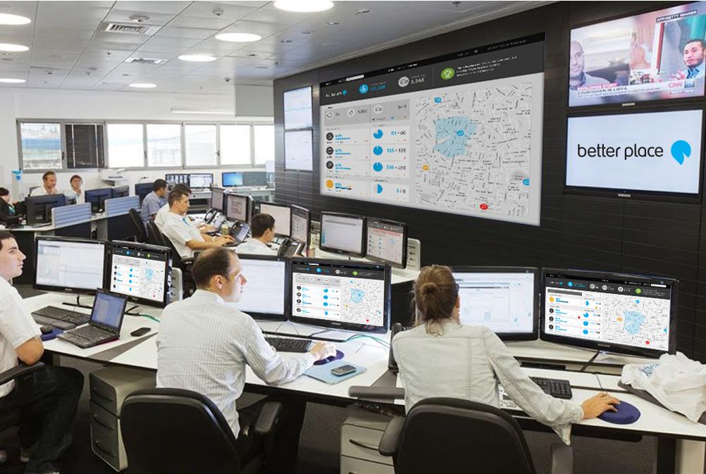 Control room UX UI design