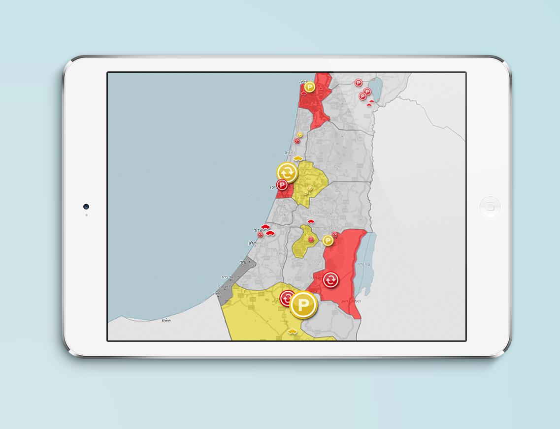 Maps UX UI design