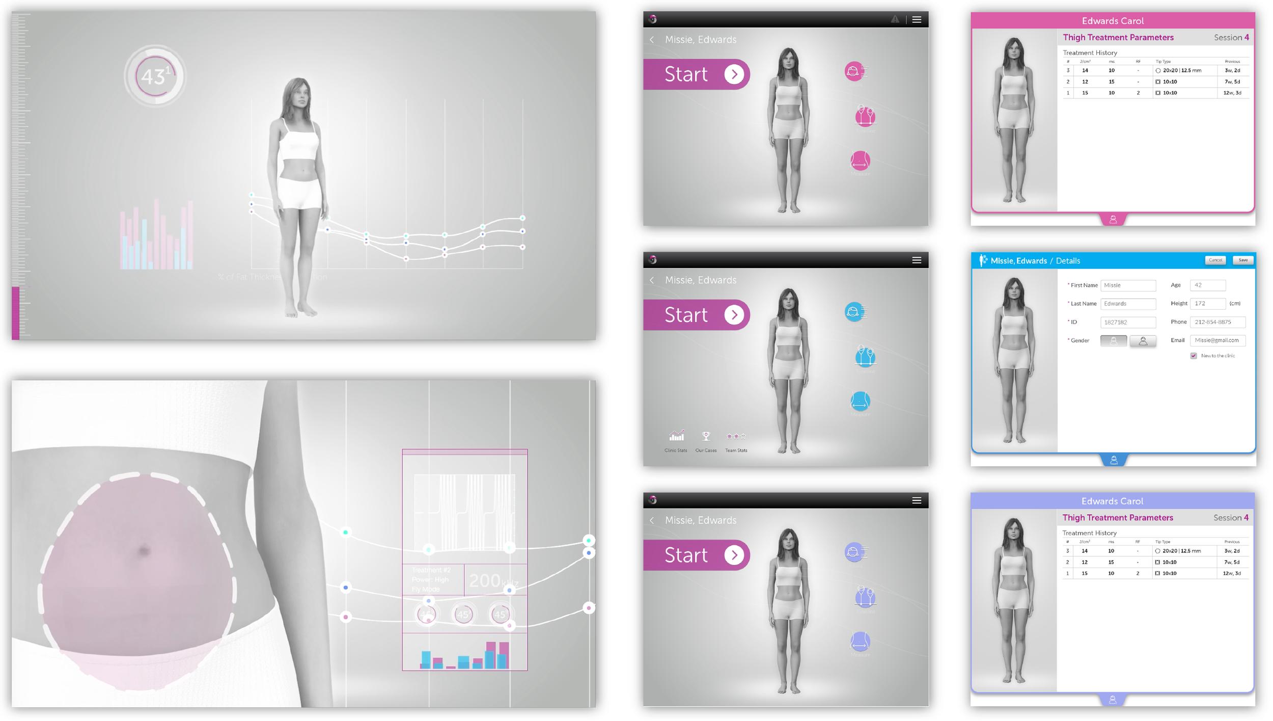 Brand UX UI design