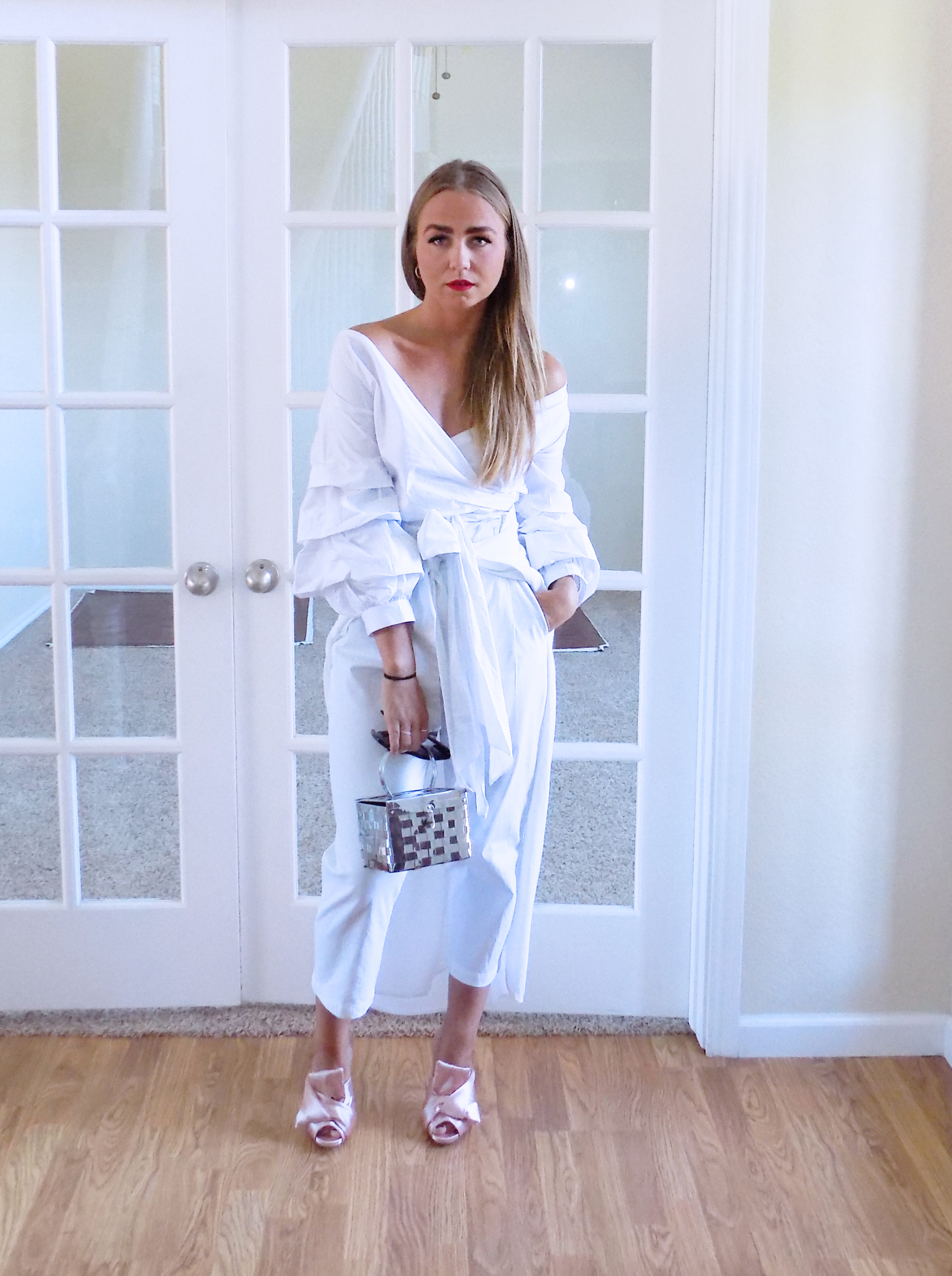 White summer layers -