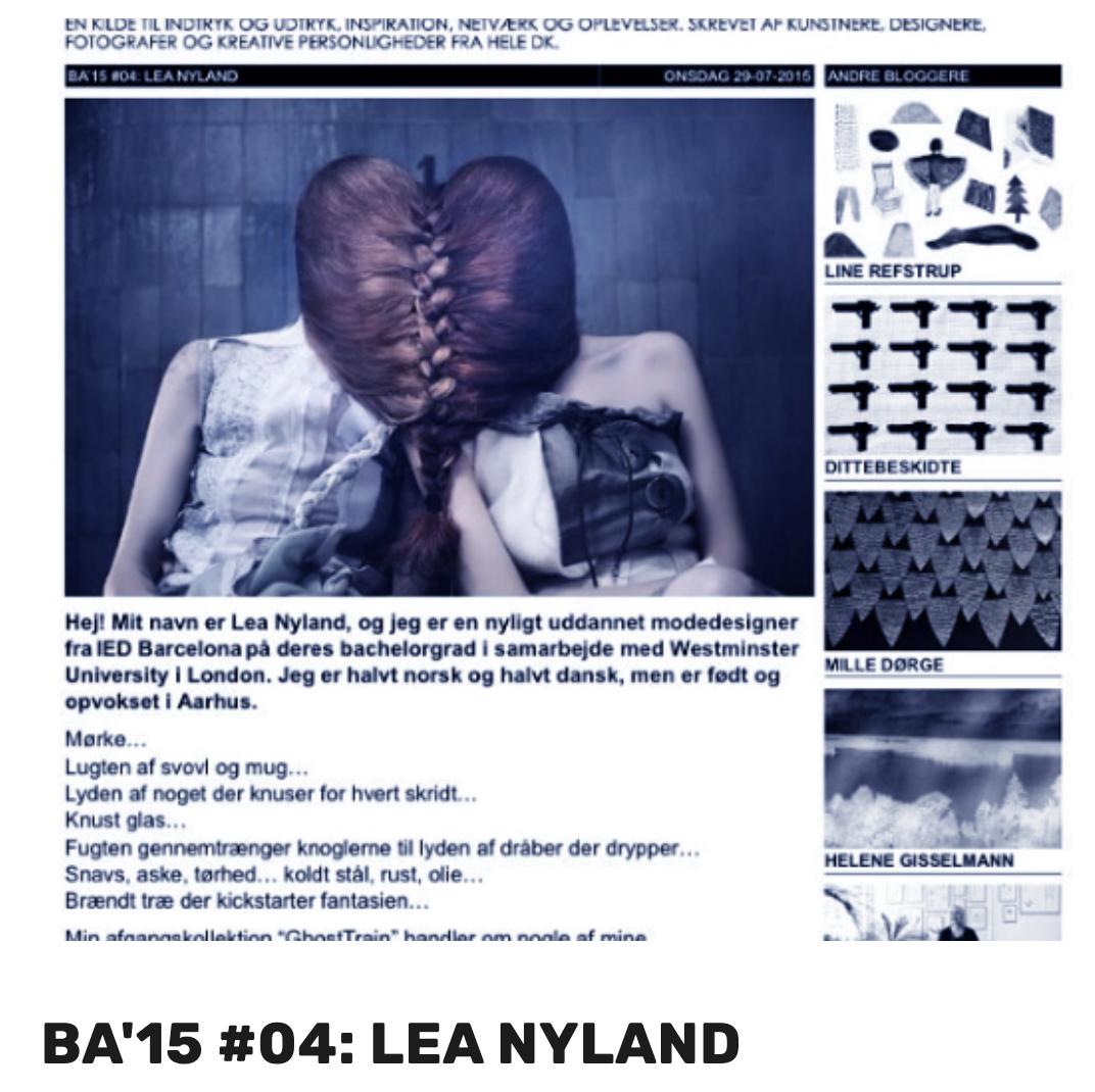 BA'15 #04: LEA NYLAND