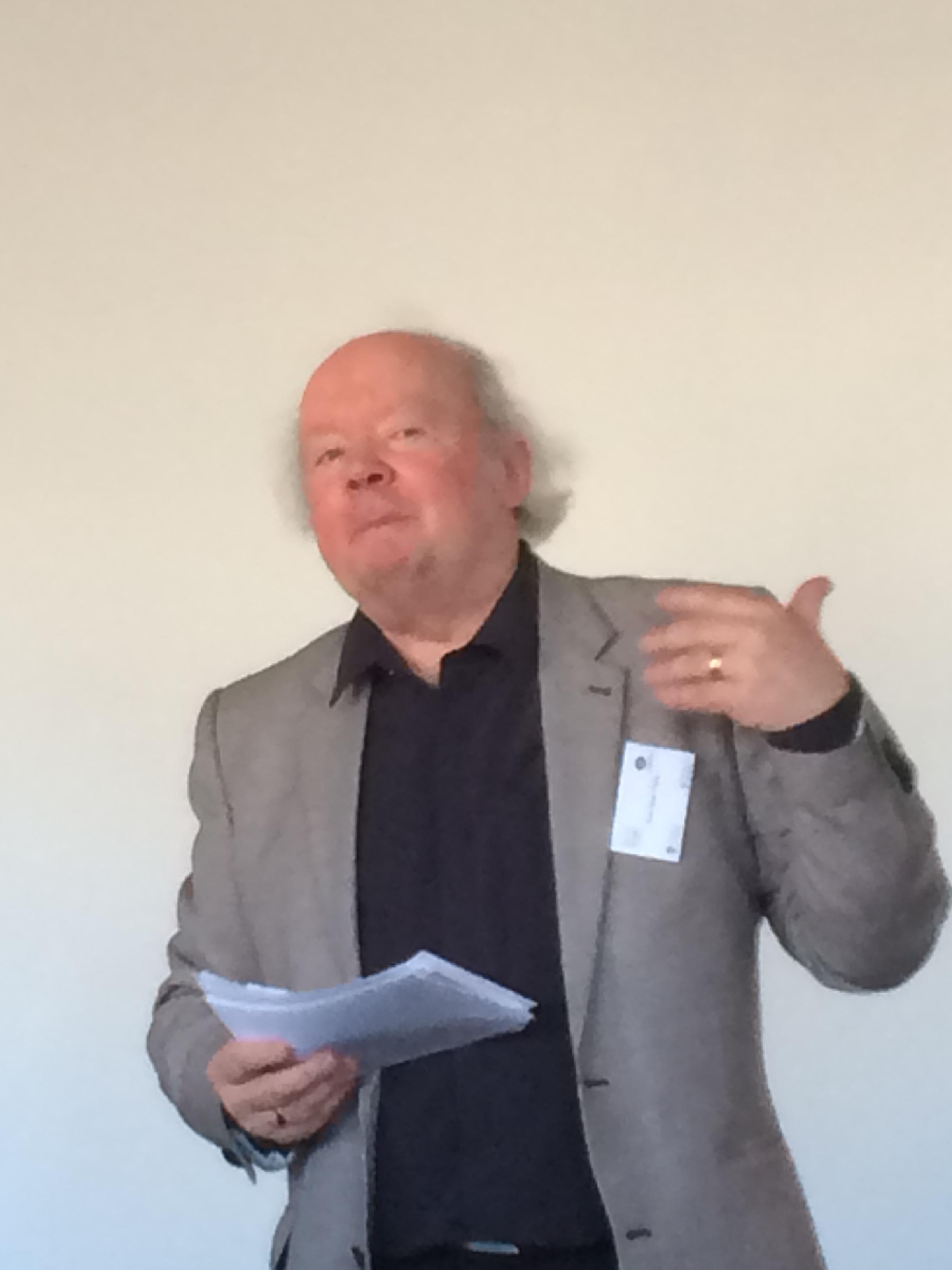 Prof Alan Titley (Photo: LP)