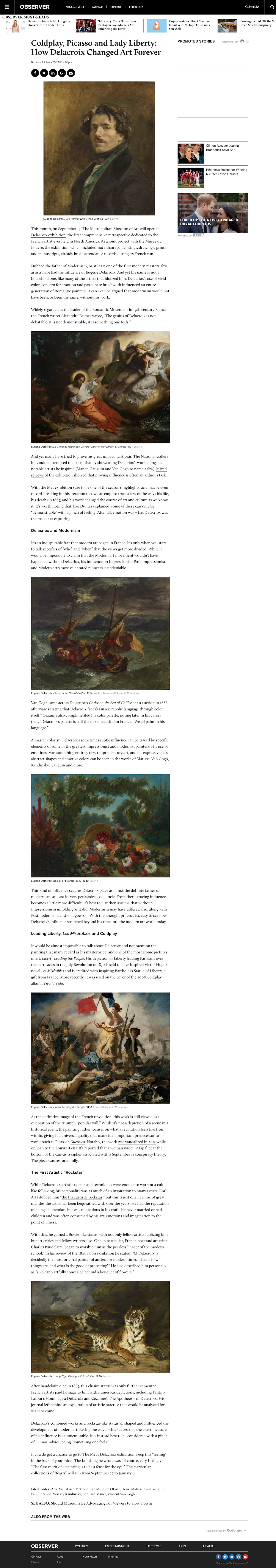 Delacroix at the Met  How the Artist Inspired Coldplay, Picasso and More   Observer.png