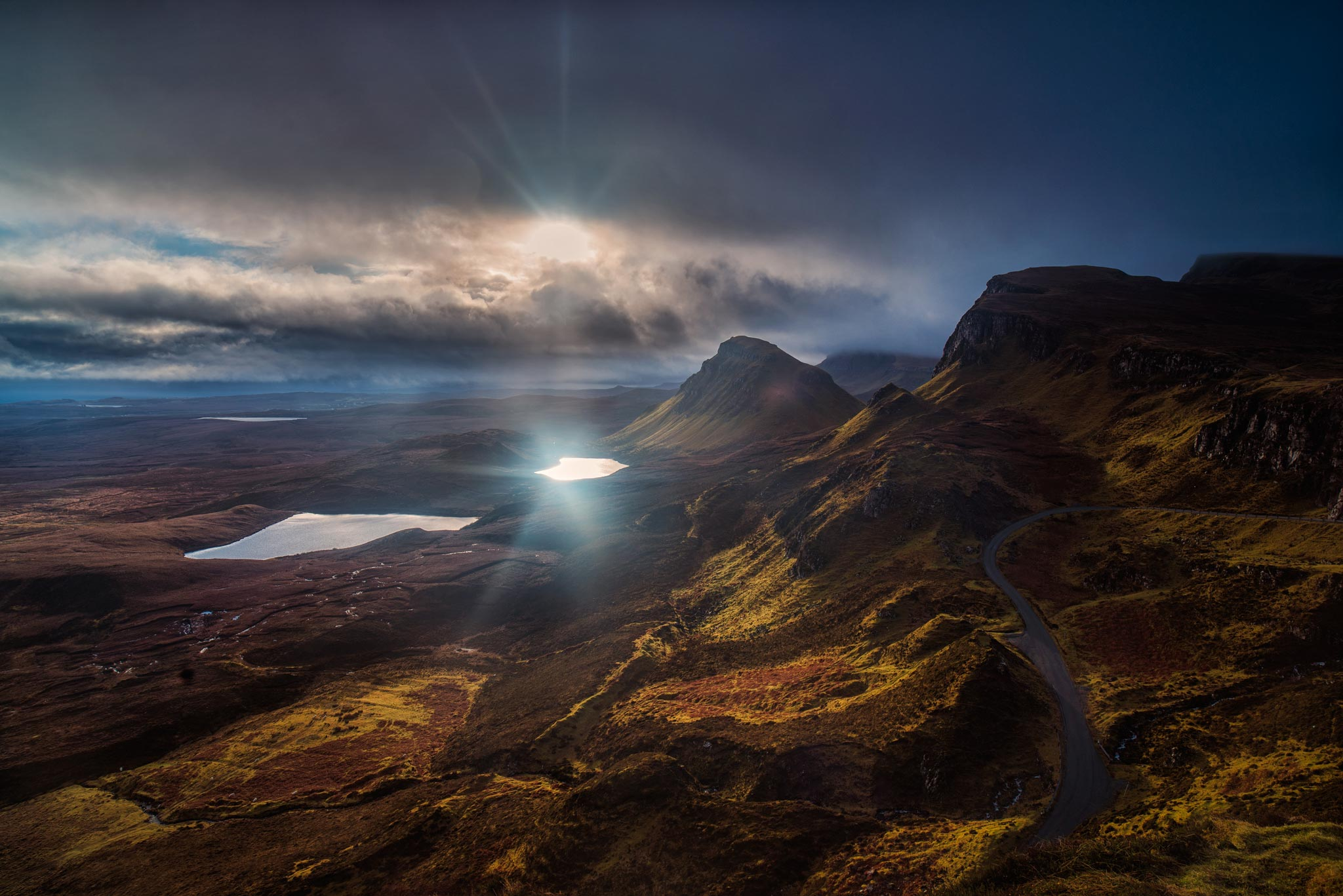 The Quiraing - Skye. Image © Dean Wright Photography