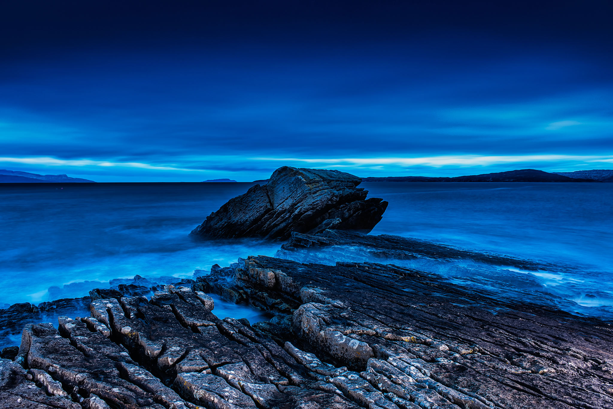 Elgol looking South East - Skye. Image © Dean Wright Photography