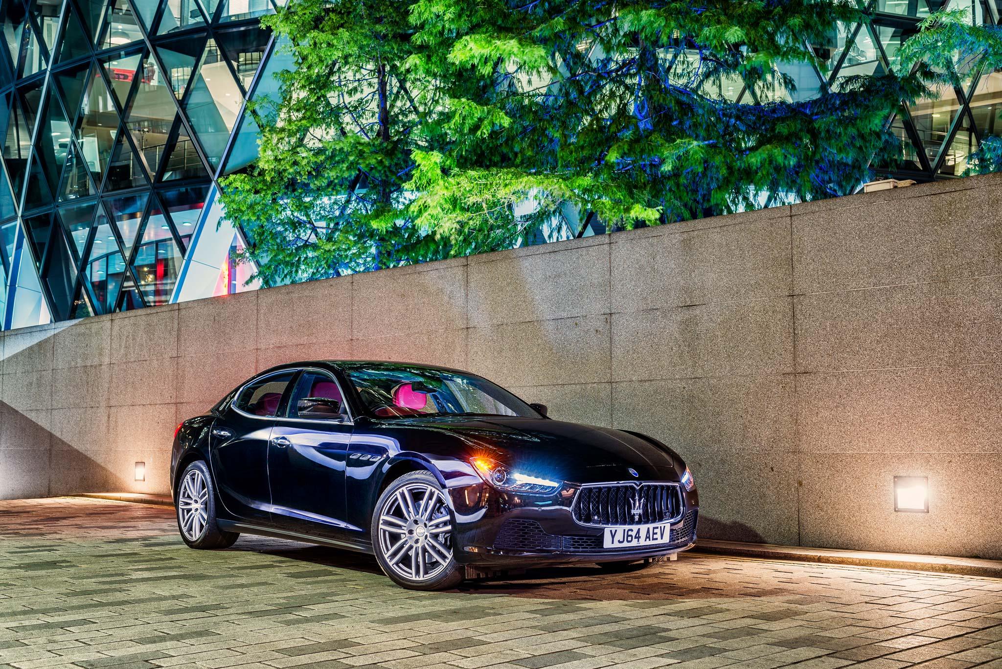 Maserati Ghibli Gherkin City of London