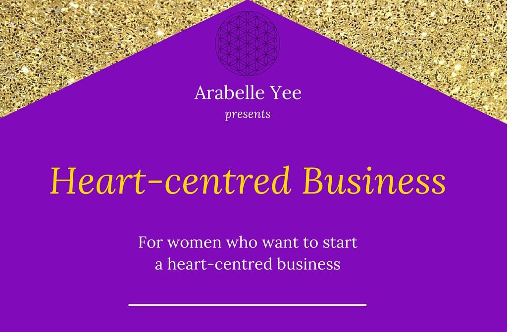 Arabelle Yee   heart-centred business