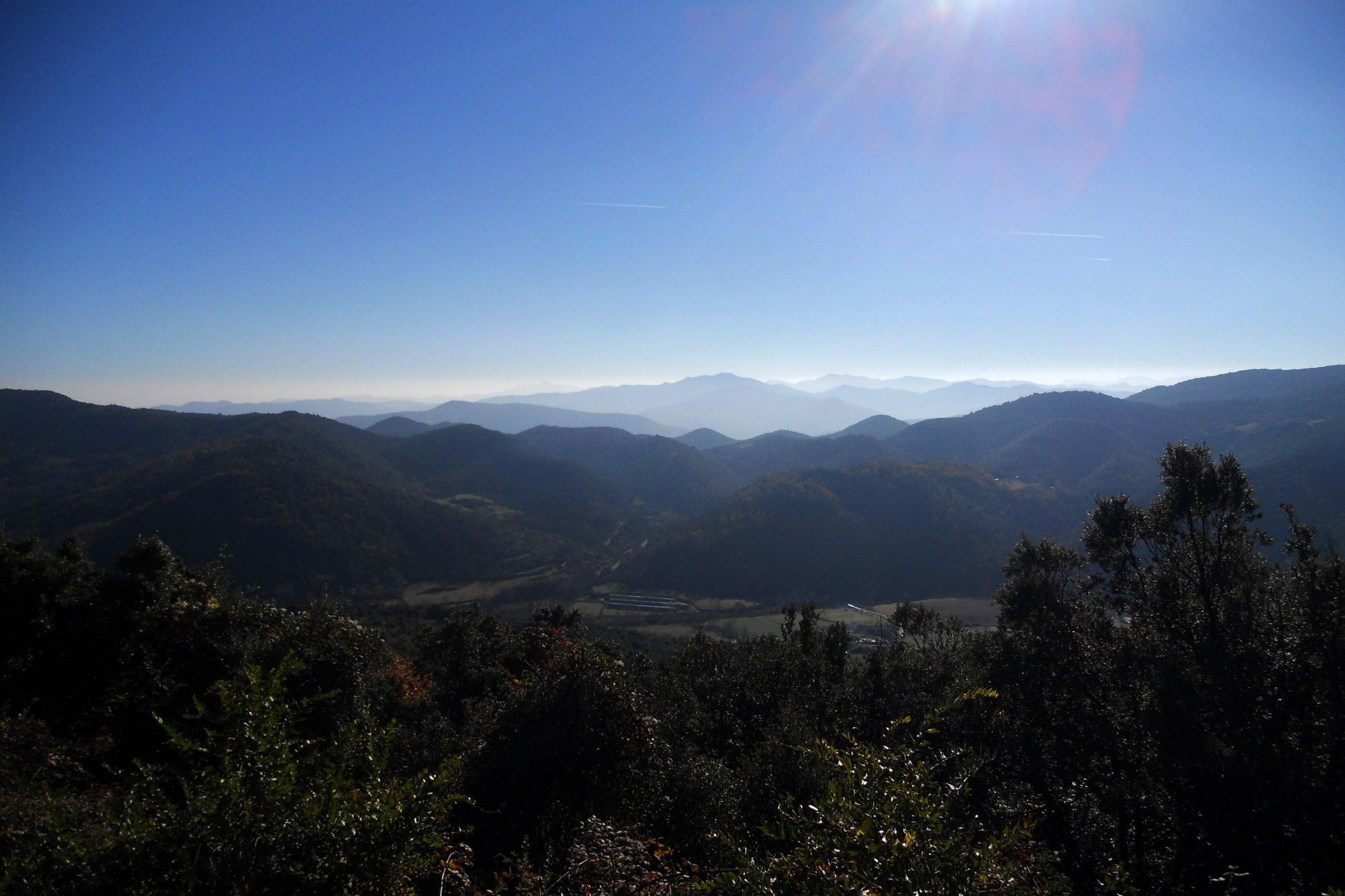 Pyrenees from Alt Emprodà