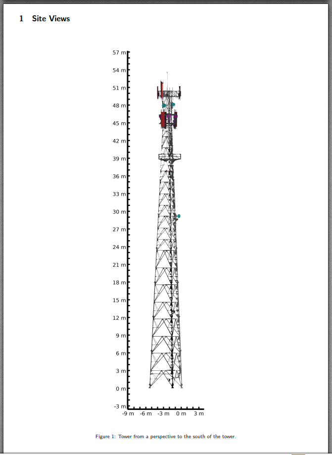 Cell tower artificial Intelligence as-built report
