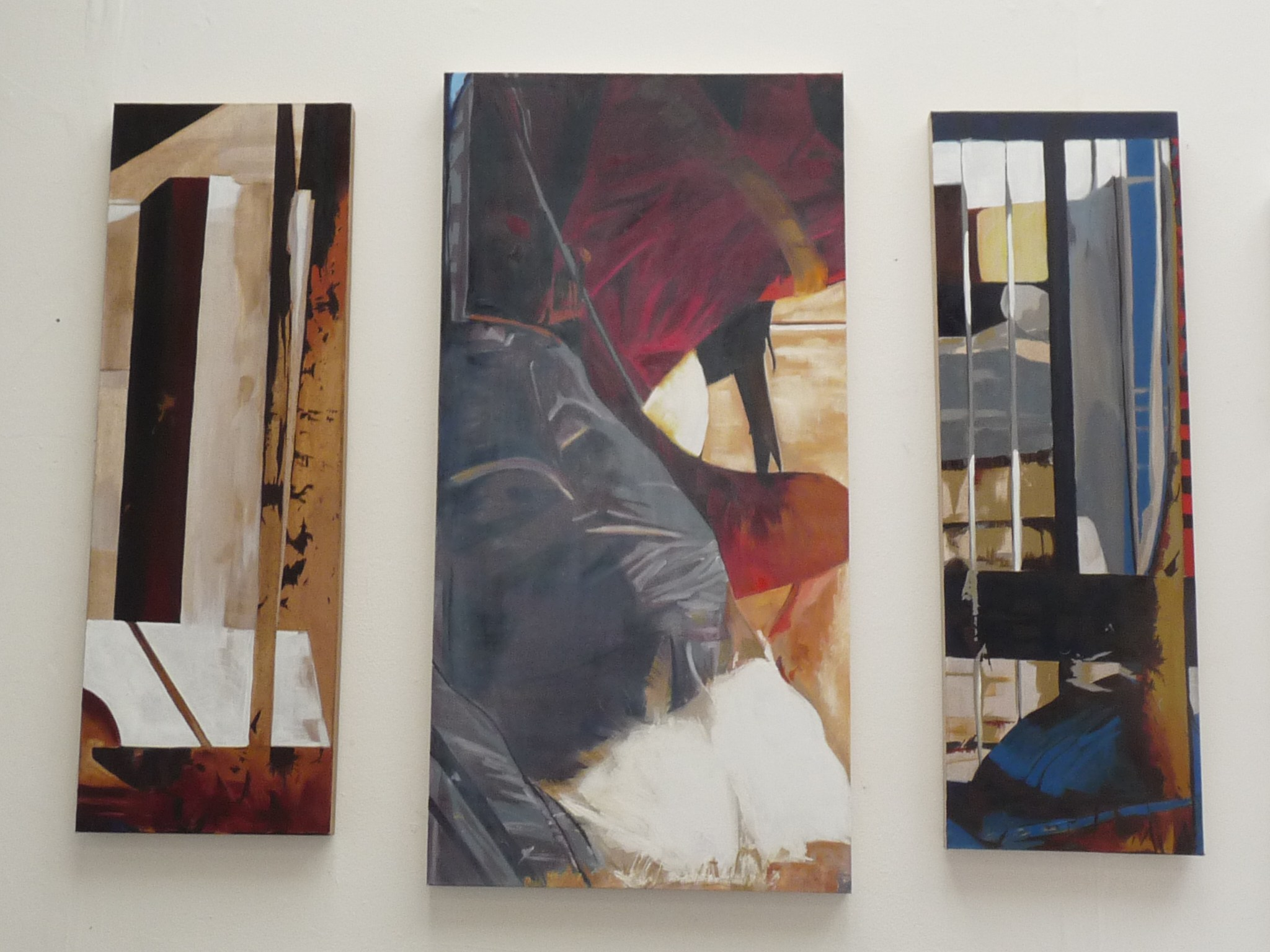 Shed Triptych