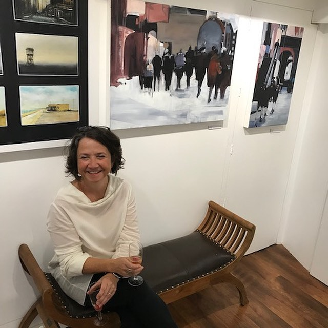 Really enjoyed the private view of the Urban Life exhibition last night @kelliemillerarts the exhibition runs until the 7th of Oct.