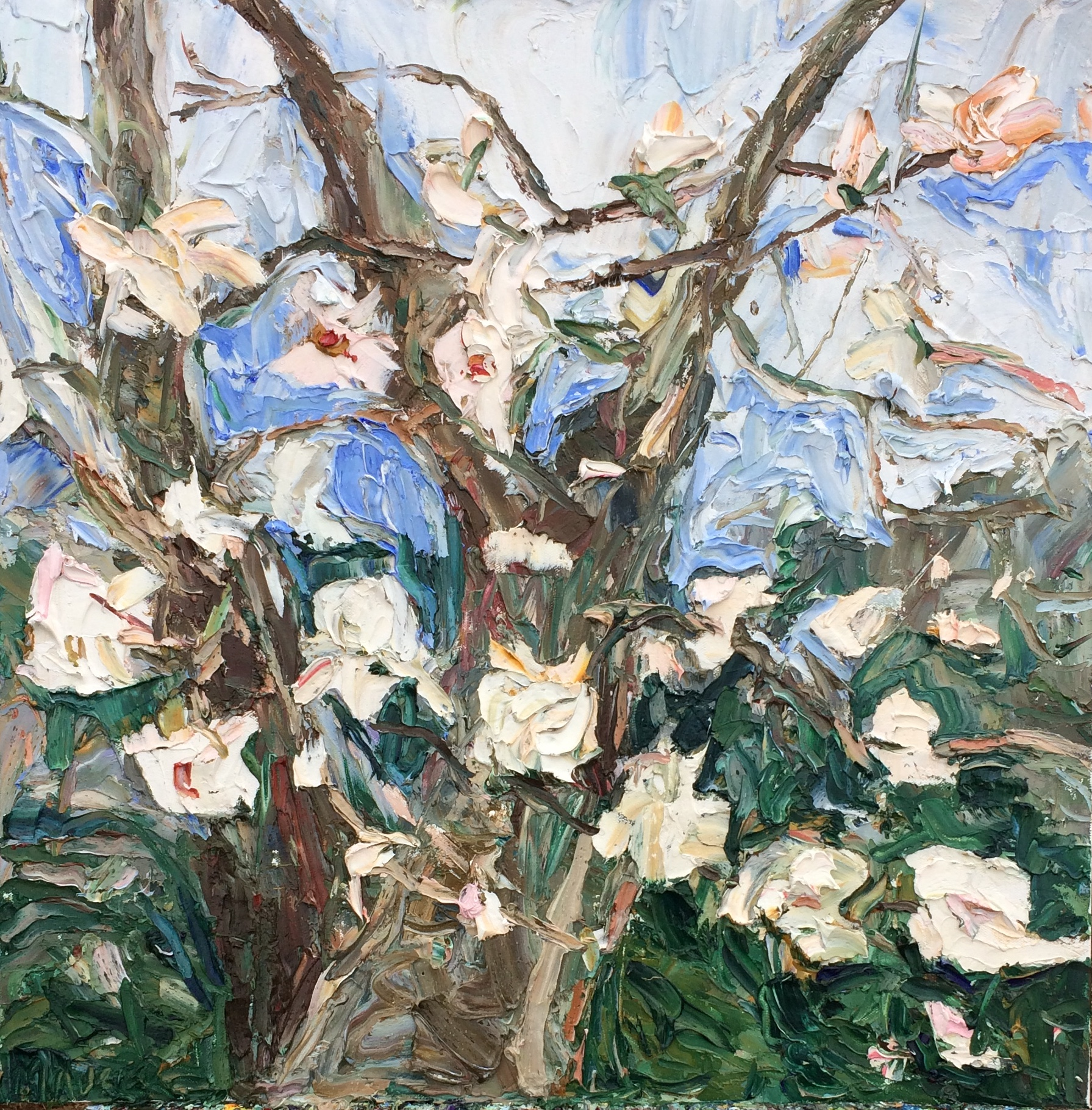 Tulip-Tree-1-oil-painting