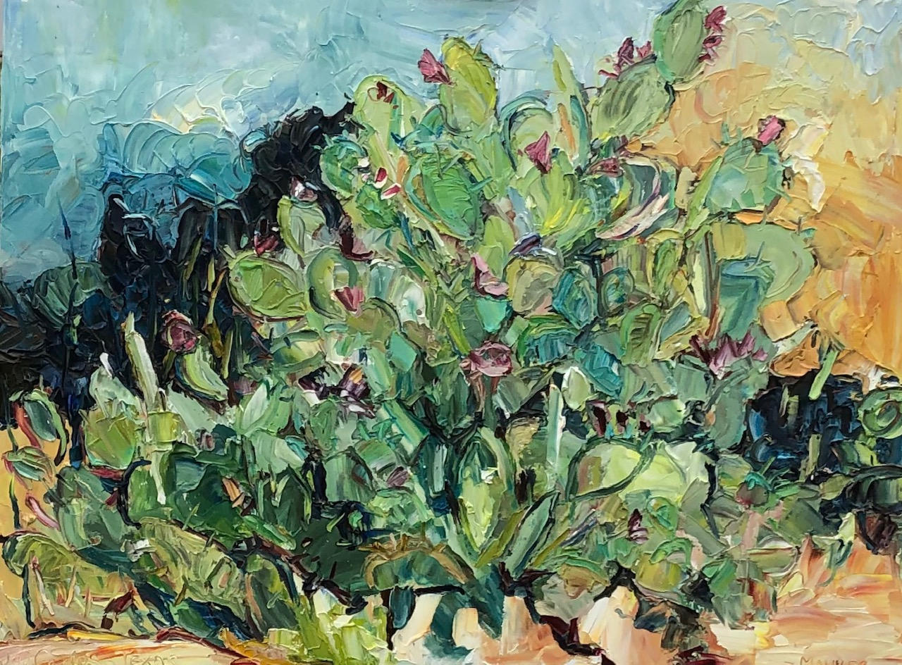 Cactus, Dallas, TX, 36x48in, $3,800