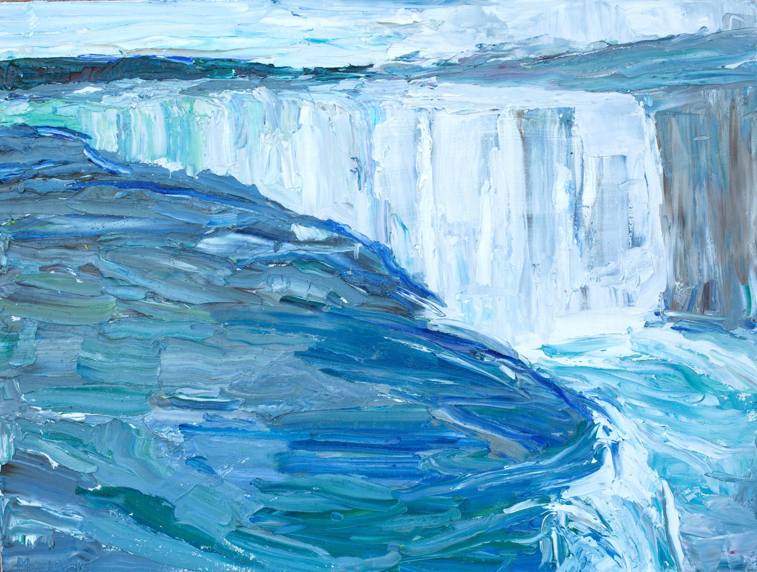 Niagara Falls, 30x40in, $3,000